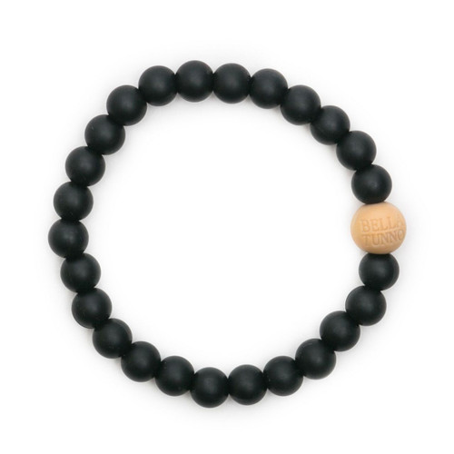 Mom's Teething Bracelet,  Black