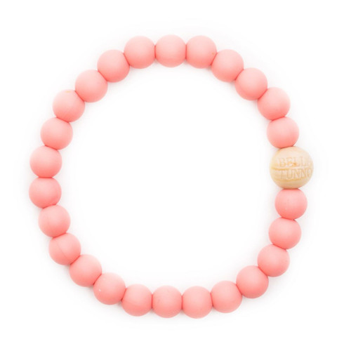 Mom's Teething Bracelet, Coral