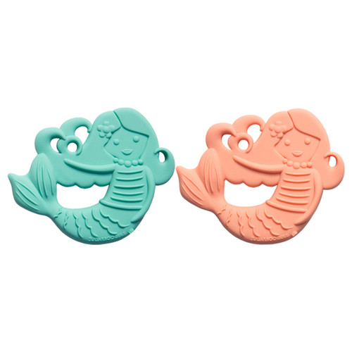 Silicone Teether Set, Isla the Mermaid