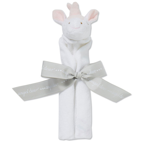 Unicorn Security Blankie, White