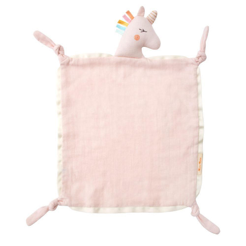 Unicorn Knotted Security Blanket