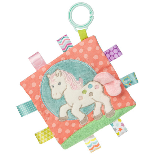 Taggies Crinkle Stroller Toy, Pony