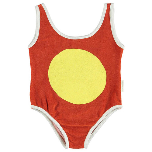 Swimsuit, Red/Yellow