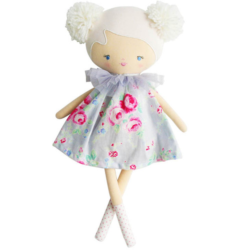Baby Ellie Doll, Silver Floral