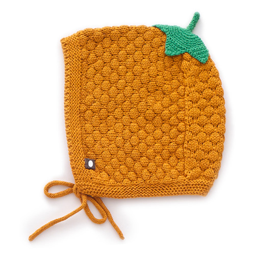 Oeuf Honeycomb Knit Hat, Ochre