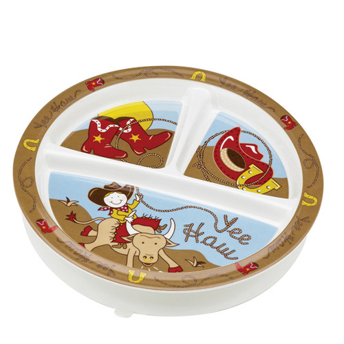 Divided Suction Plate, Cowboy