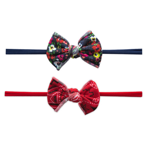2 Pack Bow Set, Bright Summer