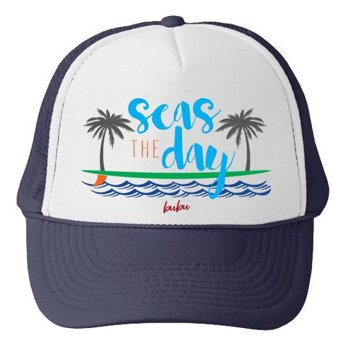 830a4049131 Seas The Day Mesh Trucker Hat