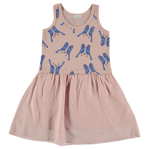 Dress Martina, Blue Birds