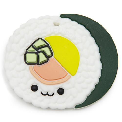 Single Sushi Roll Silicone Teether