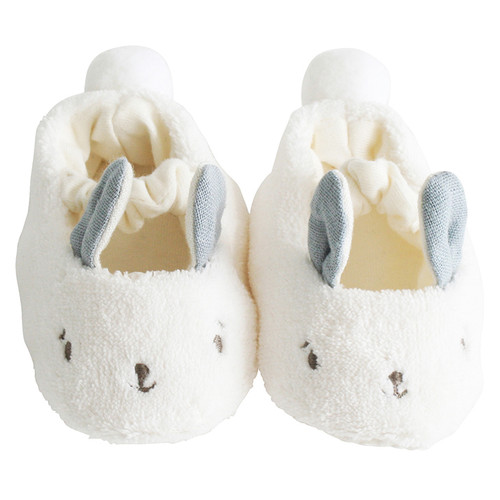 Snuggle Bunny Slippers, Grey