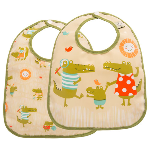 Mini Bib Set, Ollie Gator