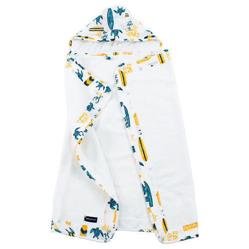 Toddler Hooded Towel, Surf