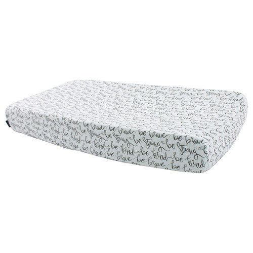 Muslin Changing Pad Cover, Just Be