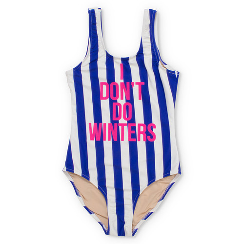 Scoop Swimsuit, I Don't Do Winters