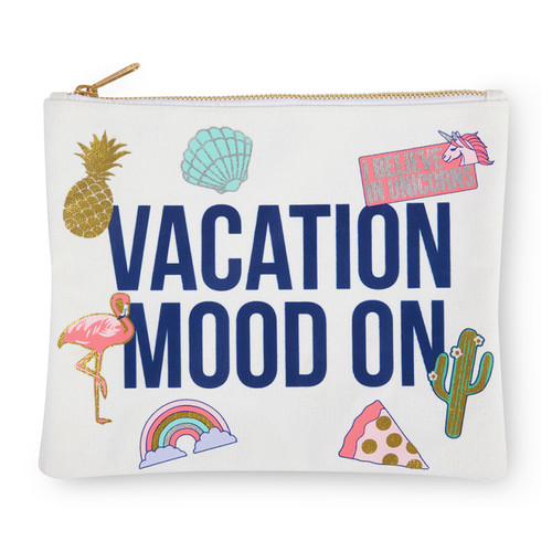 Travel Pouch, Vacation Mood On
