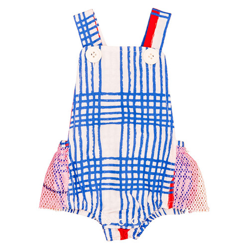 Bodysuit, Blue Gingham