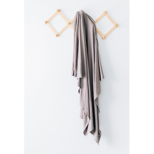 Jersey Stretch Swaddle, Taupe