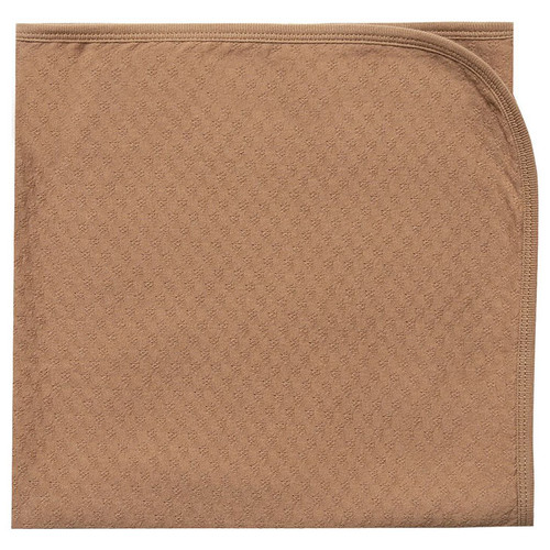 Pointelle Baby Blanket, Copper