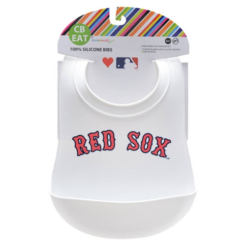 MLB Silicone Bib, Boston Red Sox