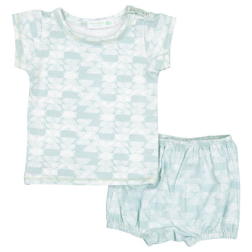 Shirt & Bloomer Set, Celery Haymow