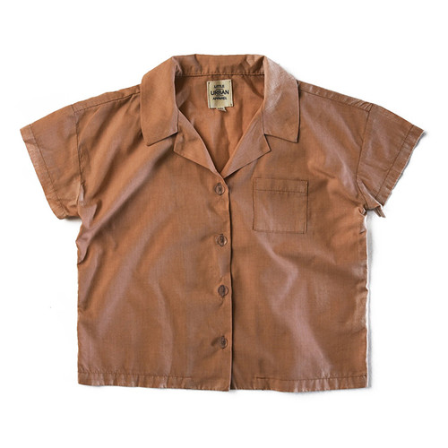 Boxy Button Up, Copper