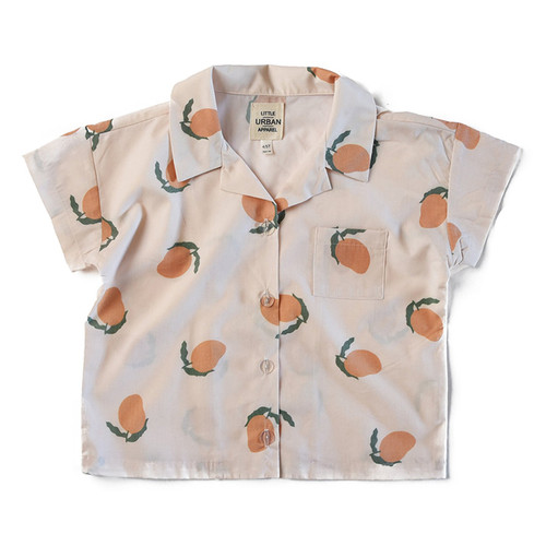 Boxy Button Up, Mangoes