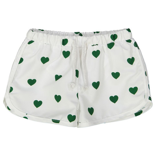 Swim Trunks, Green Hearts