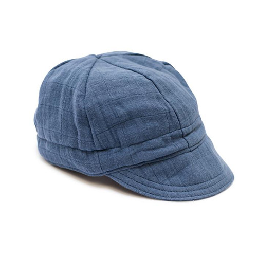 Newsboy Cap, Ocean Blue