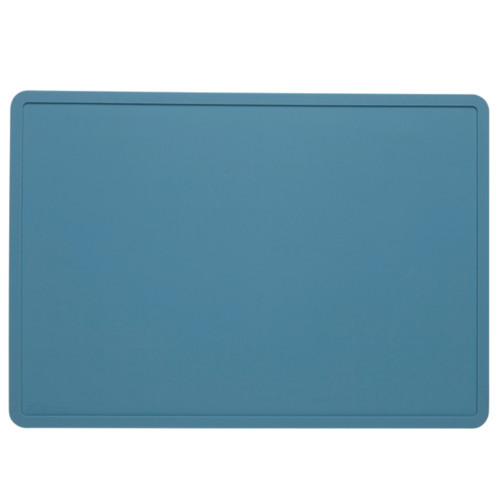 Silicone Placemat, Pool Blue