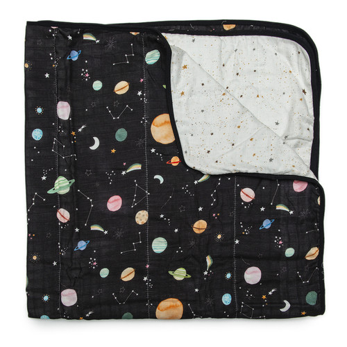 Luxe Muslin Quilt, Planets