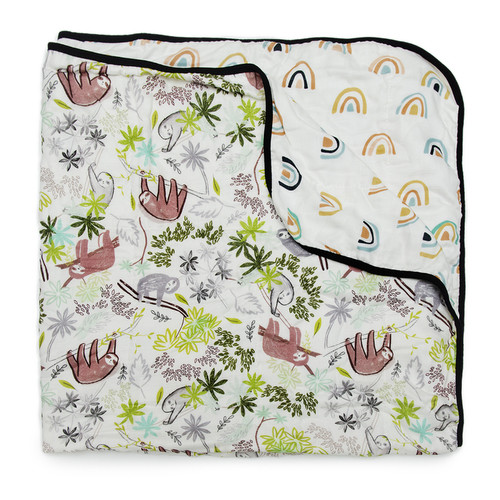 Luxe Muslin Quilt, Sloth