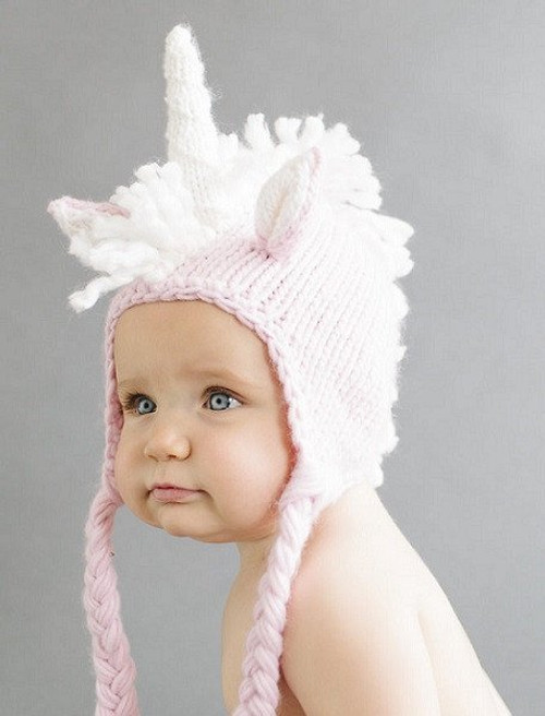 Unicorn Hat, Pink