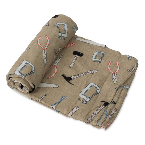 Deluxe Muslin Swaddle, Work Bench