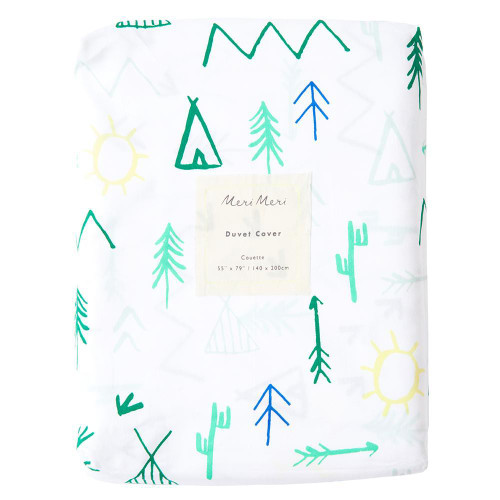 Twin Duvet Cover, Camp Ground