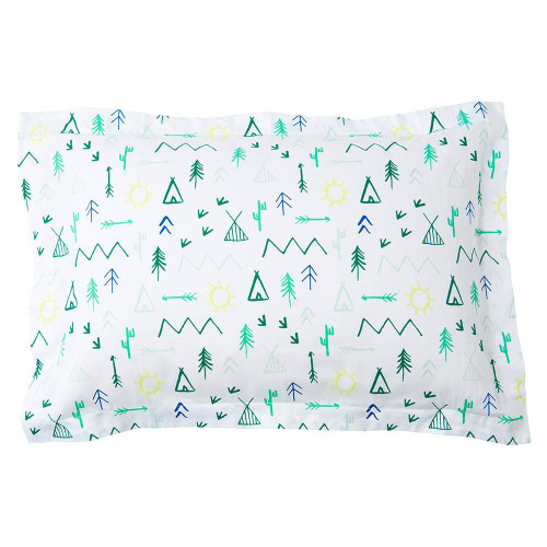 Standard Pillow Sham, Campground