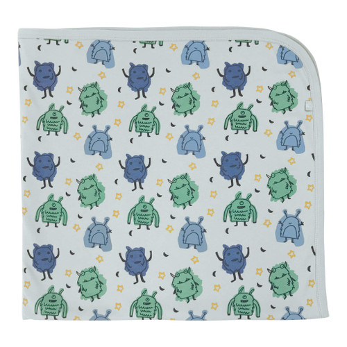 Organic Swaddle Blanket, Monsters