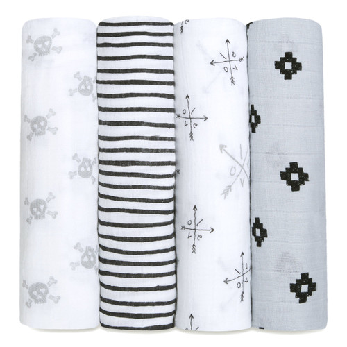 Muslin Swaddle Set, Lovestruck