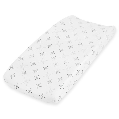 Muslin Changing Pad Cover, Lovestruck Love