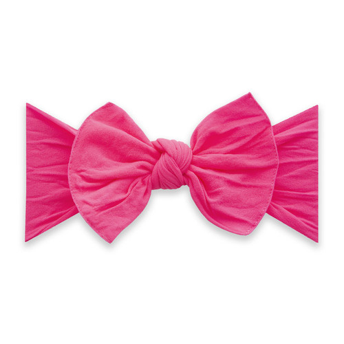 Knot Bow, Neon Pink