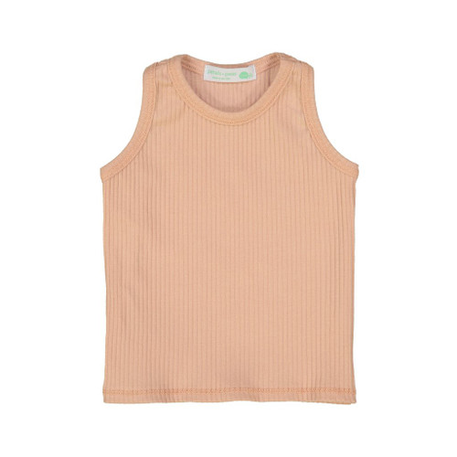 Ribbed Tank, Blush