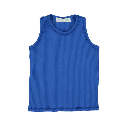 Ribbed Tank, Royal Blue
