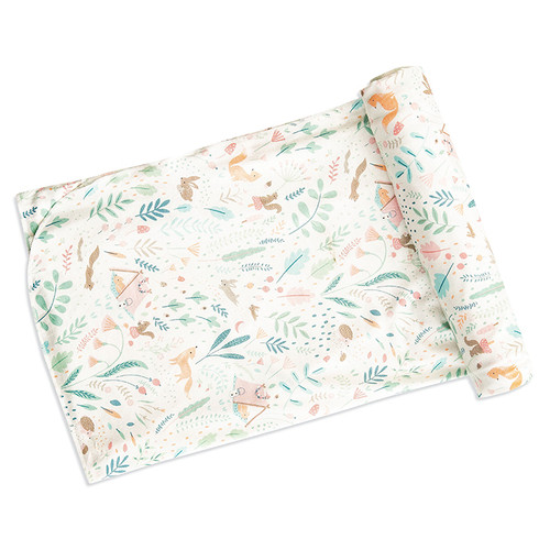 Bamboo Swaddle, Woodland Floral