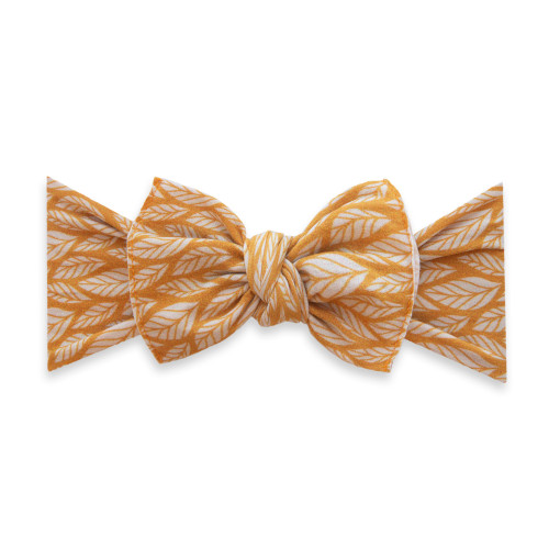 Knot Bow, Mustard Leaf