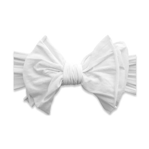 Big and Beautiful Bow, White