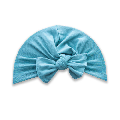 Knot Bow Turban, Teal