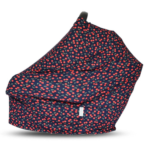 Covered Goods Multi Use Car Seat Cover, Cherries