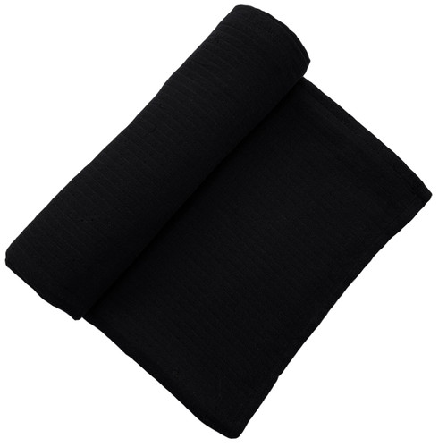 Muslin Swaddle, Black