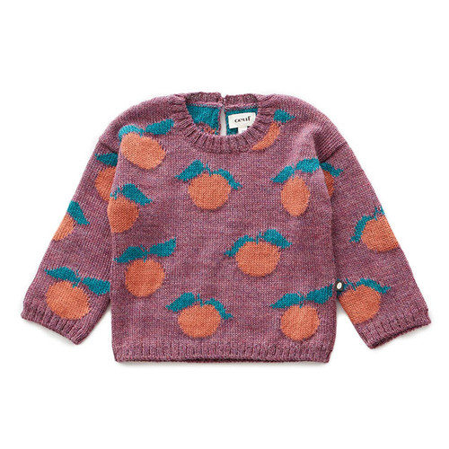 Oeuf Clementine Sweater, Mauve