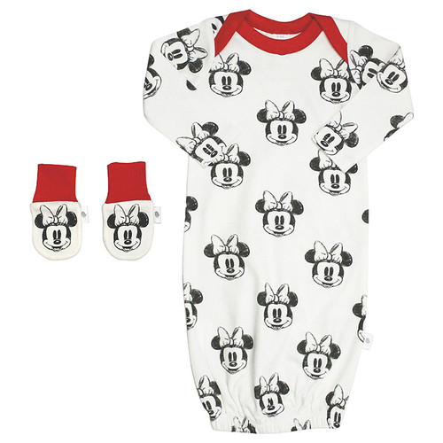 Gown & Mit Set, Minnie